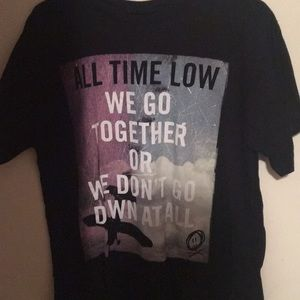 All time Low band lyric t-shirt